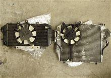 ZX-4、大型ラウンドラジエター装着1