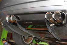 BMW E46 M3 CSL オレンジWOLF マフラー お取り付け!