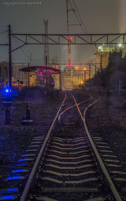 富士市工場夜景②