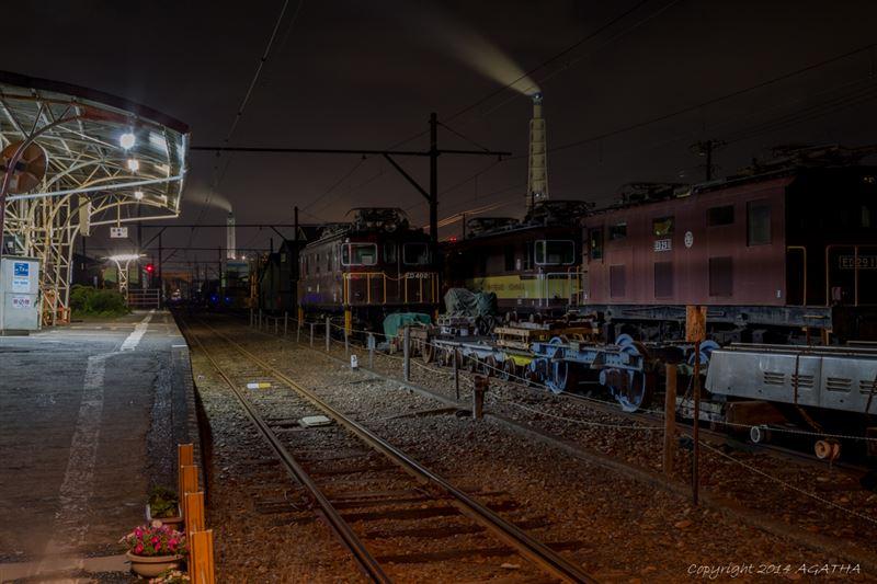 富士市工場夜景③