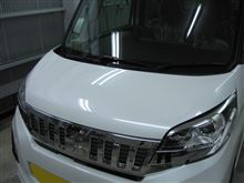 EKスペース ボディガラスコーティング アークバリア21施工 愛知県豊田市 倉地塗装 KRC