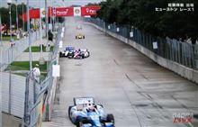 '14インディカー第9、10戦決勝ヒューストン