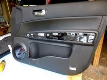 ドア・LEDカーテシランプ取り付け・タイラップ留めの・CS.ARROWS