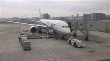 787初搭乗