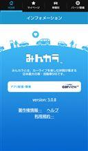 みんカラアプリ 3.0.8 バージョンアップのお知らせ(Android版)