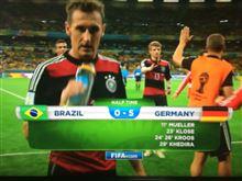 ワールドカップ 準決勝 ブラジルvsドイツ