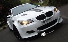 プリオールデザイン BMW 5シリーズ E60/E61用 ボディキット取扱開始!【車道楽&みんカラ ステッカープレゼント】