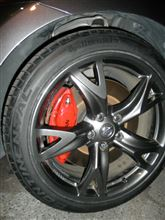 タイヤ交換と4輪アライメント調整