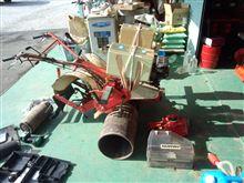 オーハシ麦踏み機の改造