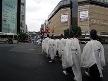 祇園祭り前半戦終了(。-ω-)