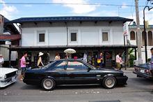 昭和の町並みに、昭和のクルマ