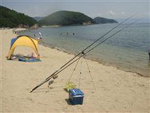 海水浴&釣り