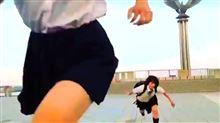 「忍者女子高生」のすご技動画。