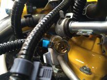 3Q自動車 燃料ホースポイントにブラドラド