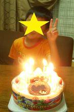 今日は息子の誕生日