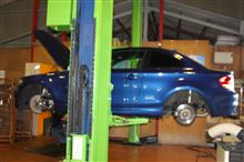 BMW E82 135 オレンジWOLF ブレーキパッド 900M & ステンメッシュホース