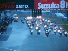 鈴鹿8耐2014。