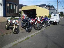 この5台のバイク・・・ どれか乗ってみませんか? 80年代のオフ車たち♪