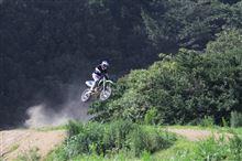 モトクロスバイクに挑戦?