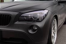 BMW X1(E84)のボディラッピング