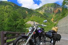 夏の早朝バイクツーリング