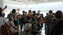 【内容】宮島に、外国人観光客が沢山!【重複】