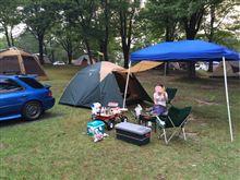 キャンプ行きました(´・Д・)」