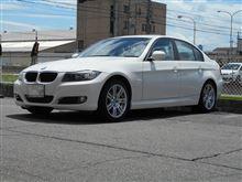 これもメンテナンス..BMW E90 ブレーキキャンペーン エントリー お値打ち
