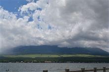 高速激混みだったけど、山中湖へと。