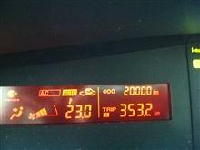 祝20000km♪