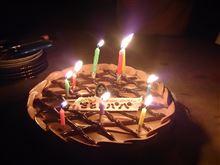誕生日!(自分の・・)