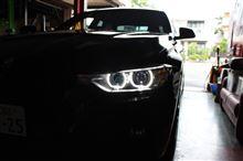 BMW F30コーディング デイライト