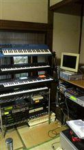 音源再配置。密集しましたw 19台体制www