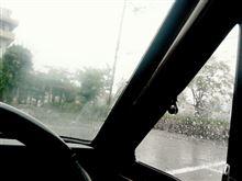 また、雨で(TT)