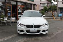 BMW F31 320d ディーゼル専用オイル交換