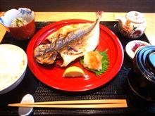 今日のランチは、「アジ」 でした! By 尾山台商店街