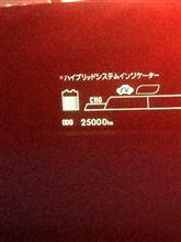 25000キロ