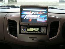 ☆ ワゴンR(MH34S)DVDナビとDVDプレーヤーコンポ取付 です。