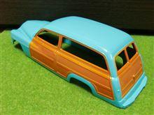 本日(8月28日)の'49 Mercury Wagon