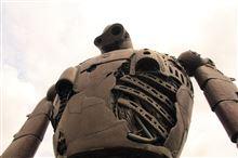 巨大ロボ!