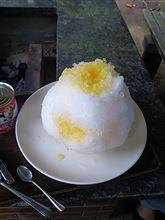 朝練とかき氷