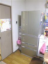 冷蔵庫が来たんですが...