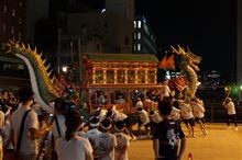 偶然 長崎くんちというお祭りの練習を 見れました!!! すごいです!!