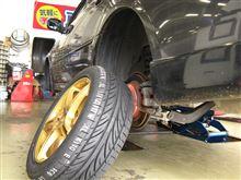 [BPレガシィ] 持ち込みタイヤ交換・トラブル対処&新たな課題 編(格安タイヤ選びVol.6)