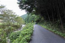 夏と秋の狭間に奈良と三重と京都の狭間を走る