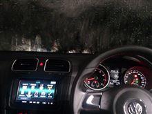 ゴルフGTI 初☆洗車機・・・