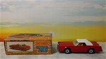 マッチボックス フォード リンカーン コンチネンタル ♪ トミカはライトがクローズド,マッチボックスはオープンです。こぅいぅリトラクタブルライトも当時のアメ車のチャームポイントでしたネ♬ (^Д^)