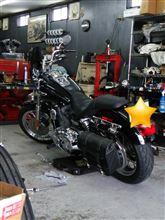 バイクのオイル交換