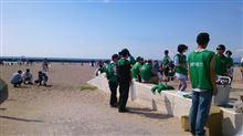 20143/09/21 須磨海岸清掃活動に参加してきました♪