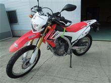 バイクETC CRF250L 取付け